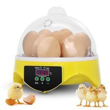 7 Egg Incubator Poultry Hatcher for Chicken Birds Eggs