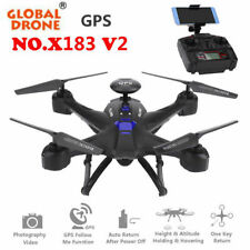 X183 2.4G Wifi FPV 120°Wide Angle HD Camera Altitude Hold Quadcopter RC Drone