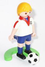 Playmobil FUSSBALLSPIELER Fußball Spieler ENGLAND Platte FUSSBALL Figur
