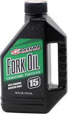 Maxima Motorcycle MX 15W Fork Oil 16 OZ Bottle
