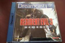 Resident Evil 3 - Nemesis (Sega Dreamcast) *PAL