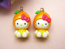 10 Hello Kitty Pendant Charm Figurine *10 pieces* Gifts (5a-10) Wholesale