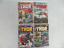 JOURNEY INTO MYSTERY 4 ISSUE SILVER COMIC RUN 116-119 THOR KIRBY 118 DESTROYER