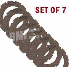 Set 7 Clutch Plate Friction Discs Harley Sportster Ironhead K Model XL XLH KH