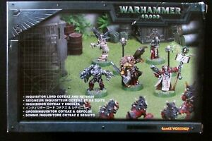 OOP Citadel Warhammer 40k Witch Hunters Inquisitor Lord Coteaz And Retinue BNIB