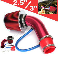 Universal Car Cold Air Intake Filter Alumimum Induction Kit Pipe Hose System  /