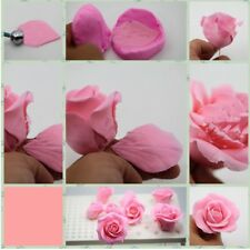 Flower Petals Molds Rose Shaped Silicone Mold For Wedding Cake Decorating New