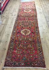 Tapis multicolores persane/orientale traditionnelle pour le couloir