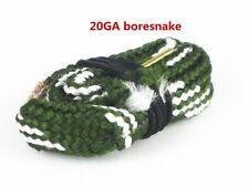 New Boresnake Gun Cleaner fit 20 Gauge GA Shotguns Bore Snake Cleaning kit