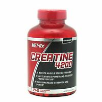 Met Rx CREATINE 4200 Muscle Strength Gains Power & Recovery 240 Capsules