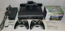 Complete Microsoft Xbox 360 Kinect Console Bundle / All Kinect Games + Sensor