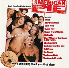 Compilation ‎CD American Pie (Music From The Motion Picture) - Europe (VG+/VG+)