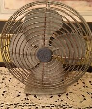 VINTAGE GENERAL ELECTRIC 11 INCH VINTAGE ELECTRIC FAN OSCILLATING SINGLE SPEED