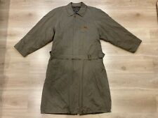 Paul & Shark Yachting Men's Trench Coat Jacket Size- Large (L), but fits like XL