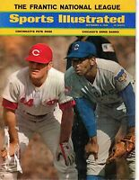 1969 (Sep.8) Sports Illustrated, Magazine, Baseball, Ernie Banks, Pete Rose ~GLR