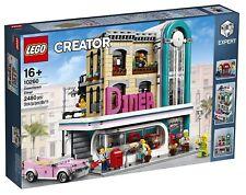 LEGO CREATOR 10260 DOWNTOWN DINER -nuovo-Italia