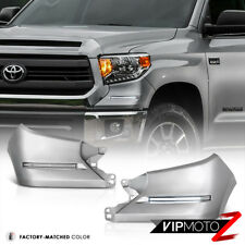 2014-2016 Toyota Tundra [ TRD STYLE ] Silver LED SMD Front D.R.L Fog Lights Lamp