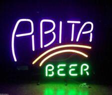 """Abita Beer Purple Haze 14""""x10"""" Neon Sign Lamp Light Beer Bar With Dimmer"""