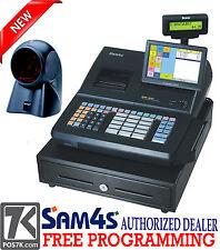 """SAM4S SPS-530 RT 7"""" Touch Screen Cash Register with Orbital Scanner"""