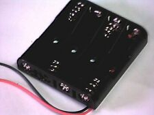 Batteriehalter für 4x Micro (AAA) mit Anschlußkabeln