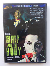 Whip and the Body DVD Mario Bava Christopher Lee Horror Rare!