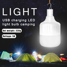 Rechargeable LED Bulb Camping Lamp Bulb Waterproof Tent Light Market lighting