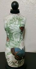 New Listing185 Tall Decorative Table Top Cloth And Wood Mannequinminiature Dress Form