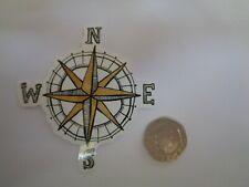 "Phone,Laptop or Case Vinyl  Sticker "" Compass """