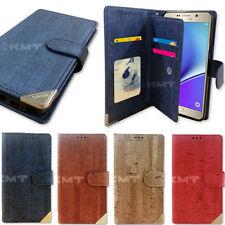 Wood Double Wallet Case for LG G7 G6 G5 G4 G3 G2 / LG V30 V20 V10 / LG X Power2