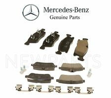 For MB W166 ML-Class X166 GL GLE GLS Class Set of Front & Rear Brake Pads OES