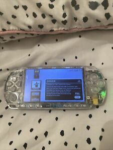 PlayStation Portable PSP 3000 64gb CFW 6.61 PRO-C Infinity, Clear, excellent con