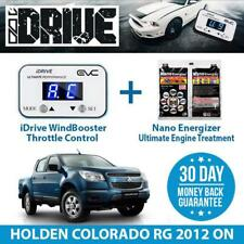IDRIVE THROTTLE CONTROL FOR  HOLDEN COLORADO RG 2012 ON + NANO ENERGIZER AIO