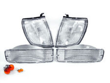 DEPO JDM Clear Corner Lights + Bumper Signal Lights For 1996-1998 Toyota 4Runner