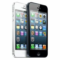Apple iPhone 5 16GB 32GB 64GB - Factory Unlocked - (AT&T T-Mobile) 4G Smartphone