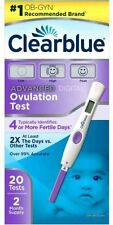 Clearblue Fertility 20 Advanced Digital Ovulation Test Exp 09/17
