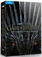 NEW  Game of Thrones Complete Eighth 8th Season 8 Blu-ray + Digital Copy 3 Discs