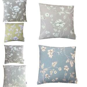 ILIV ETCHED VINE FLORAL MULTI LISTING HANDMADE UK CUSHION COVERS