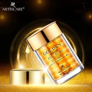 Golden Eye Cream Anti-Wrinkle Anti-Age Remover Dark Circles Eye Care Serum