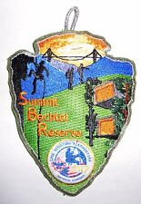 2017 Jamboree Silver Summit Participant Program Award Staff Patch - RESTRICTED