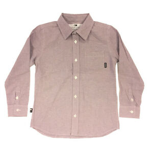 Fourstar Skateboards Childrens  Long Sleeve Shirt Pale Purple 8-9y DISCOUNTED