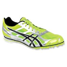 Asics Mens 11.5 Hyper MD 5 G304N.0490 Track & Field Spikes Shoe Black Yellow NEW