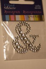 & Sign Diamond Gemstone Rhinestone Ampersand Scrapbooking Sticker