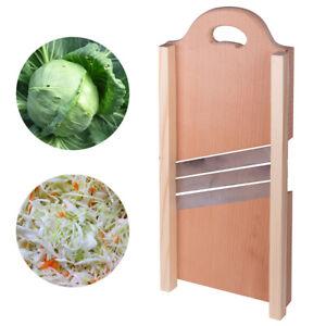 Wooden Cabbage Shredder Slicer Mandolin Large Vegetable Cutter Vegetable Grater
