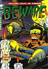 Beware 11 Comic Book Cover Art Giclee Reproduction on Canvas