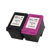 Set 2 Cartucce per HP 301xl 301 XL DESKJET 1050 1000 1010 2050 3000 BLACK + COLOR