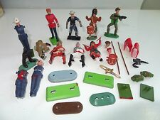 *(SH) Deetail Britains Timpo LOT of SOLDIERS FIGURES BASES
