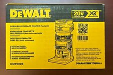 DeWalt DCW600B 20-Volt Depth Adjusting Brushless Cordless Router - Bare Tool