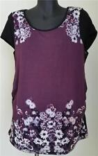 Target Viscose Floral Regular Size Tops & Blouses for Women