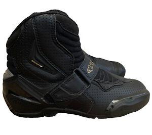 Alpinestars Stella SMX-1 R Vented Boots Women's Size 7 Eur 38 Black & Gold