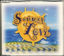 ALPHA BEAT - summer of love 3 trk MAXI CD 1995